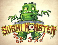 Sushi Monster Concept Characters