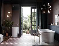Bathroom for Salini S.l.r. (december, 2016)