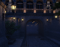 "3D Environment Creation - ""Through the Night"""