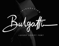 BULGATTI LUXURY - FREE SCRIPT FONT