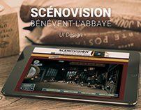 Scénovision de Bénévent-l'Abbaye | Logo & UI Design