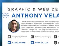 Resume - Graphic & Web Designer, Orlando