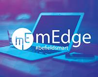 mEdge logo design