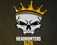 Headshunter Elite Mascot Logo