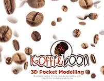 3D Modelling [Koffieboon]