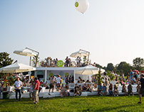 S7 Airlines integration in festival