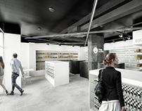 Projekt wnętrza apteki