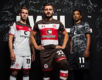 FC St. Pauli 2017/18 Kits