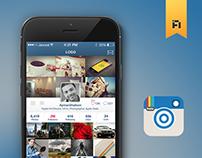 Instagram Redesign Concept