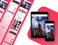 Hear Music – Music Company Modern Landing Page