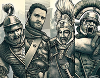 Characters for «VIAE - Roads of Rome»