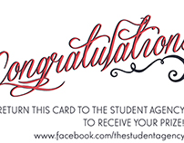 The Student Agency Prize Vouchers
