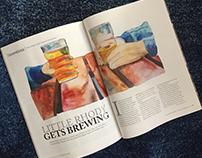 Illustrations for Newport Life Magazine