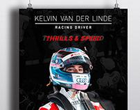 POSTER DESIGN FOR: Kelvin Van Der Linde