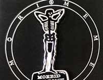 Custom Enamel Pin for Morbid Anatomy