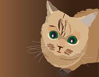 Illustration of Photorealistic Cats