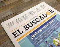 Primera edición periódico El Buscador