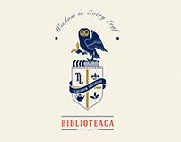 Biblioteaca - Tea Library Branding