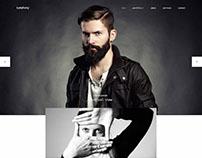 Symphony - Clean Photography & Portfolio Drupal Theme