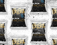 Gigitt Black Chips // Design for packaging