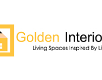 logo design for golden interior
