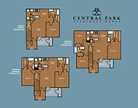 Central Park Apartment Homes Floor Plans