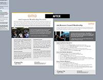 Membership Brochure Redesign