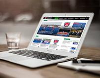 Türkiye Hokey Federasyonu Web Site Tasarımı