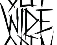 Cut Wide Open (band) Logo Design