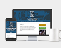 Dover Sherborn Education Fund website design