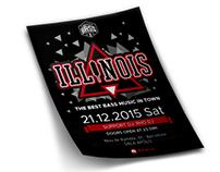 Illinois Dj. Naming+Logo