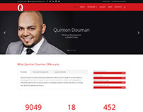 Quinton Douman Complete Website Redesign