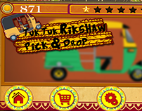 (Desi Auto Rickshaw) Game UI Design