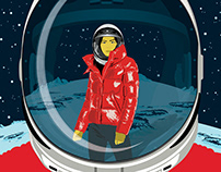 'Outerwear, Meet Outer Space' for Delta Sky Magazine.