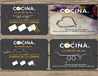 Canal Cocina Branding / Promotional Items/ ADs
