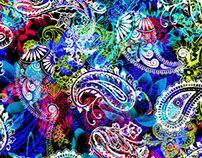 Paisley Pattern for Robert Graham Spring 2017