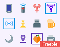 Free 500 Material icons