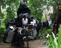 The Beauty In The Beast | Scrap Installation