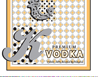 Luck Vodka Label
