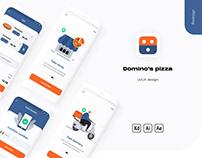 Domino's pizza mobile application