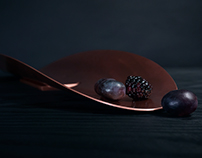 HENRI - FRUIT BOWL - COPPER