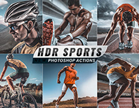 HDR Sports Photo Effects