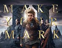 HISTORY CHANNEL: Vikings Keyart