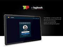 TAP elogbook concept Ui/Ux