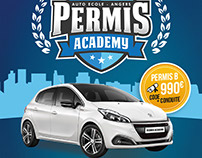 Flyer Permis Academy
