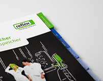 "Reflex brochure — ""Hot Water Storage Tanks"""
