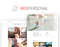 NeoPersonel - Corporate & Personel Theme