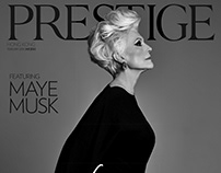 Maye Musk for Prestige