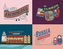 Snapchat Geofilters - Kaliningrad, Russia