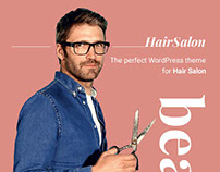 Hair Salon WordPress Theme - HairSalon WP (COPY)